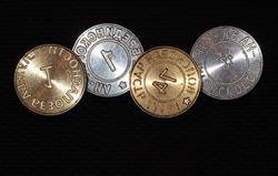 металлические печати под сургуч и пластелин