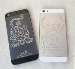 iPhone гравировка на корпусе